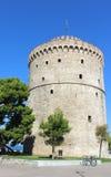 Ο άσπρος πύργος Στοκ Εικόνες