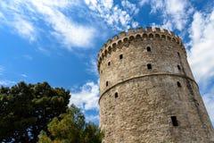 Ο άσπρος πύργος Στοκ εικόνες με δικαίωμα ελεύθερης χρήσης