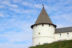 Ο άσπρος πύργος Kazan Κρεμλίνο Στοκ Εικόνες