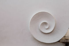 Ο άσπρος στρόβιλος Στοκ εικόνα με δικαίωμα ελεύθερης χρήσης