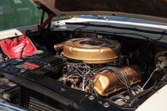 Ο άσπρος υδράργυρος Monterey του 1964 στο 32$ο ετήσιο κλασικό αυτοκίνητο αποθηκών της Νάπολης παρουσιάζει στοκ εικόνα με δικαίωμα ελεύθερης χρήσης