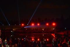 Ο ένατος μπορεί, η ημέρα νίκης Στοκ φωτογραφία με δικαίωμα ελεύθερης χρήσης