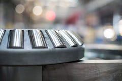 Ο ένσφαιρος τριβέας στο μηχανισμό Στοκ Εικόνα