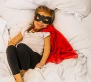 Ο έξοχος ήρωας κοριτσιών Στοκ Φωτογραφία