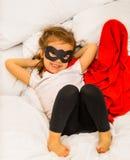 Ο έξοχος ήρωας κοριτσιών Στοκ Εικόνες