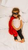 Ο έξοχος ήρωας κοριτσιών Στοκ Εικόνα