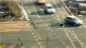 Οδήγηση αυτοκινήτων, μετατόπιση κλίσης στο Βουκουρέστι φιλμ μικρού μήκους