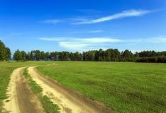 Οδήγηση βρώμικων δρόμων Στοκ φωτογραφίες με δικαίωμα ελεύθερης χρήσης