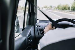 Οδήγηση εθνικών οδών Στοκ Φωτογραφίες