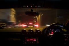 οδήγηση κινδύνου Στοκ εικόνα με δικαίωμα ελεύθερης χρήσης