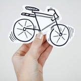 Οδήγηση ποδηλάτων ποδηλάτων Στοκ φωτογραφίες με δικαίωμα ελεύθερης χρήσης
