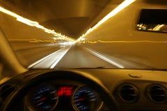 οδήγηση σε κατάσταση μέθης Στοκ φωτογραφία με δικαίωμα ελεύθερης χρήσης