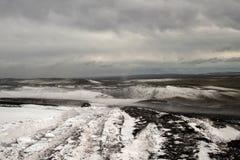 Οδήγηση στην Ισλανδία Στοκ φωτογραφία με δικαίωμα ελεύθερης χρήσης