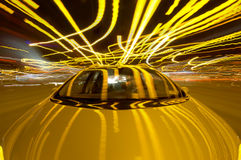 οδήγηση χάους Στοκ Εικόνες
