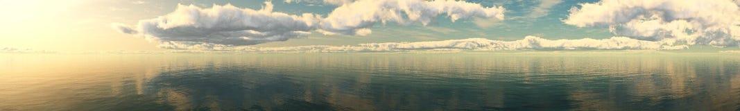 Ο ήλιος είναι στα σύννεφα, Στοκ Εικόνες
