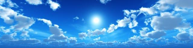 Ο ήλιος είναι στα σύννεφα, Στοκ εικόνες με δικαίωμα ελεύθερης χρήσης