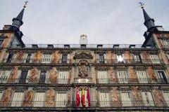 Ο δήμαρχος Plaza στη Μαδρίτη Στοκ Φωτογραφία