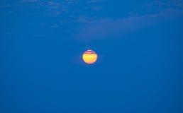 Ο ήλιος κίτρινος Στοκ Φωτογραφία