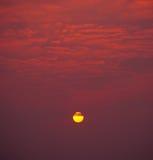 Ο ήλιος κίτρινος Στοκ φωτογραφία με δικαίωμα ελεύθερης χρήσης