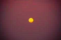 Ο ήλιος κίτρινος Στοκ Εικόνες