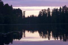 Ο ήλιος ρύθμισης Στοκ Εικόνες