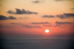 Ο ήλιος ρύθμισης Στοκ εικόνες με δικαίωμα ελεύθερης χρήσης