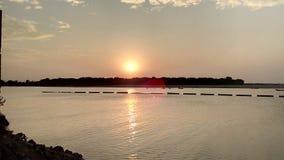 Ο ήλιος ρύθμισης Στοκ Εικόνα