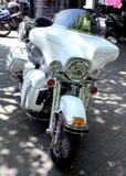 Ολίσθηση του Harley Davidson Electra στοκ εικόνα