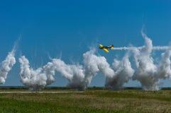 Ο αέρας παρουσιάζει Στοκ Εικόνες