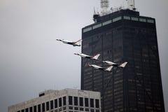 ο αέρας Σικάγο εμφανίζει ύ Στοκ φωτογραφία με δικαίωμα ελεύθερης χρήσης