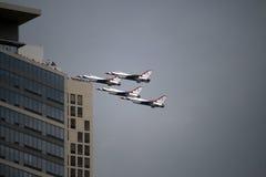ο αέρας Σικάγο εμφανίζει ύ Στοκ εικόνα με δικαίωμα ελεύθερης χρήσης