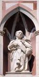 Ο αγένειος προφήτης, καθεδρικός ναός της Φλωρεντίας Στοκ εικόνες με δικαίωμα ελεύθερης χρήσης