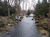 Ο αγγλικός κήπος, Μόναχο, Γερμανία στοκ εικόνα