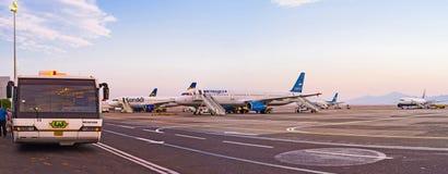 Ο αερολιμένας Hurghada Στοκ εικόνα με δικαίωμα ελεύθερης χρήσης