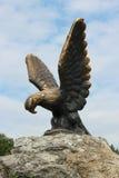 Ο αετός είναι έμβλημα Pyatigorsk Βόρεια ορόσημα Καύκασου στοκ φωτογραφία με δικαίωμα ελεύθερης χρήσης