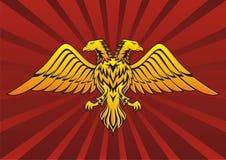 ο αετός διεύθυνε δύο Στοκ φωτογραφία με δικαίωμα ελεύθερης χρήσης