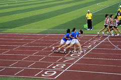 Ο αθλητισμός συναντά, επιβιβάζεται στα παιχνίδια παπουτσιών στοκ εικόνα