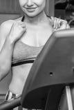 Ο αθλητής στη γυμναστική στοκ εικόνες με δικαίωμα ελεύθερης χρήσης