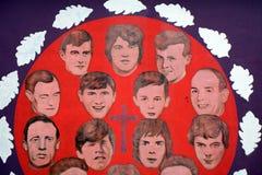 Ο αιματηρός εορτασμός της Κυριακής, Derry, Βόρεια Ιρλανδία Στοκ εικόνες με δικαίωμα ελεύθερης χρήσης