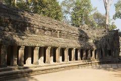 Ο αιώνας Preah Khan ruins12th ναών σε Angkor Wat, Siem συγκεντρώνει, Καμπότζη Στοκ Εικόνες