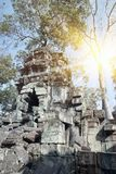 Ο αιώνας Preah Khan ruins12th ναών σε Angkor Wat, Siem συγκεντρώνει, Καμπότζη Στοκ εικόνες με δικαίωμα ελεύθερης χρήσης
