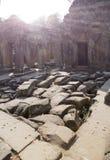 Ο αιώνας Preah Khan ruins12th ναών σε Angkor Wat, Siem συγκεντρώνει, Καμπότζη Στοκ Φωτογραφίες