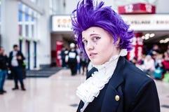 Ο ακαδημαϊκός κόσμος ηρώων μου cosplay Στοκ φωτογραφία με δικαίωμα ελεύθερης χρήσης