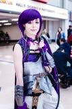 Ο ακαδημαϊκός κόσμος ηρώων μου cosplay Στοκ Εικόνες
