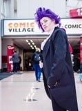 Ο ακαδημαϊκός κόσμος ηρώων μου cosplay Στοκ εικόνα με δικαίωμα ελεύθερης χρήσης