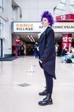 Ο ακαδημαϊκός κόσμος ηρώων μου cosplay Στοκ Φωτογραφίες