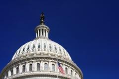 Ο αμερικανικός Capitol θόλος Στοκ Φωτογραφίες