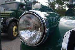 Ο αναδρομικός όρος παλαιό Chevy Chevrolet μεντών παίρνει το φορτηγό από το 1946 Στοκ Φωτογραφίες
