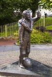 Ο αναμνηστικός κήπος στον πρώην μικρότερο αδερφό του Robert Dunlop του Joey Dunlop σε Ballymoney, κομητεία Antrim, Βόρεια Ιρλανδί Στοκ εικόνα με δικαίωμα ελεύθερης χρήσης