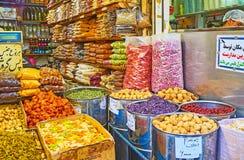 Ο ανατολικός στάβλος καρυκευμάτων, Τεχεράνη Στοκ φωτογραφία με δικαίωμα ελεύθερης χρήσης